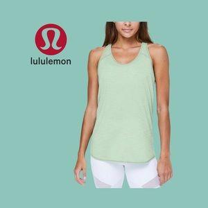Lululemon Green Essential Tank Top Size 8